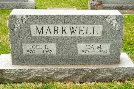 MARKWELL, JOEL E - Richland County, Ohio | JOEL E MARKWELL - Ohio Gravestone Photos