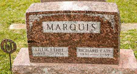 MARQUIS, RICHARD EARL - Richland County, Ohio | RICHARD EARL MARQUIS - Ohio Gravestone Photos