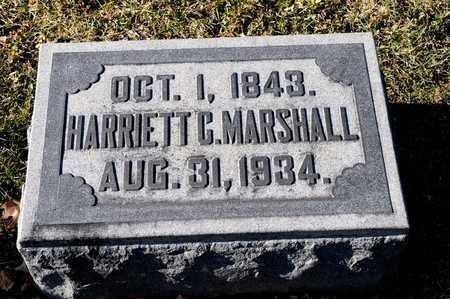 MARSHALL, HARRIETT C - Richland County, Ohio | HARRIETT C MARSHALL - Ohio Gravestone Photos