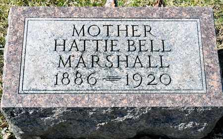 MARSHALL, HATTIE BELL - Richland County, Ohio | HATTIE BELL MARSHALL - Ohio Gravestone Photos