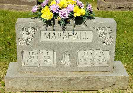 MARSHALL, LEWIS T - Richland County, Ohio | LEWIS T MARSHALL - Ohio Gravestone Photos