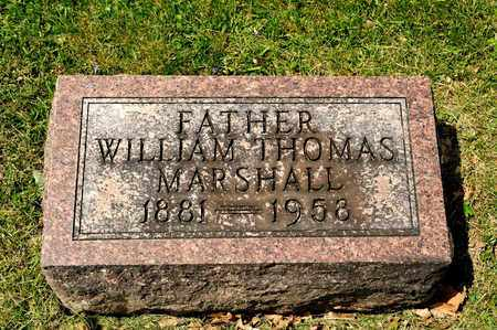 MARSHALL, WILLIAM THOMAS - Richland County, Ohio   WILLIAM THOMAS MARSHALL - Ohio Gravestone Photos