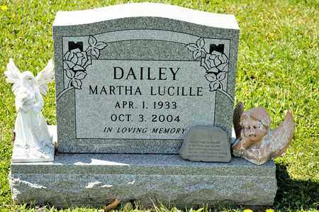DAILEY MARTHA, LUCILLE - Richland County, Ohio | LUCILLE DAILEY MARTHA - Ohio Gravestone Photos