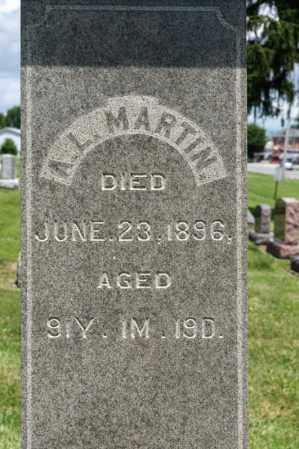 MARTIN, A L - Richland County, Ohio | A L MARTIN - Ohio Gravestone Photos