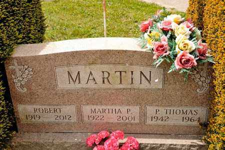 MARTIN, P THOMAS - Richland County, Ohio | P THOMAS MARTIN - Ohio Gravestone Photos