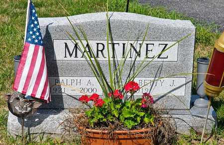 MARTINEZ, RALPH A - Richland County, Ohio | RALPH A MARTINEZ - Ohio Gravestone Photos