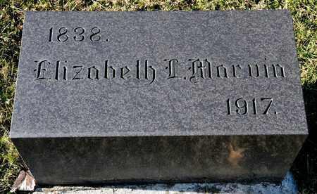 MARVIN, ELIZABETH L - Richland County, Ohio | ELIZABETH L MARVIN - Ohio Gravestone Photos