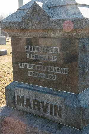 MARVIN, HIRAM - Richland County, Ohio | HIRAM MARVIN - Ohio Gravestone Photos