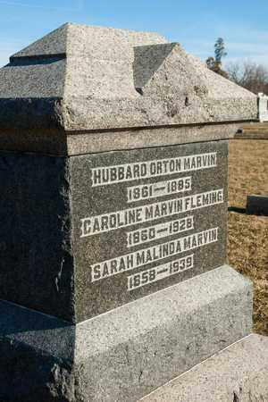 MARVIN, HUBBARD ORTON - Richland County, Ohio | HUBBARD ORTON MARVIN - Ohio Gravestone Photos