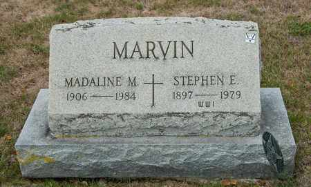 MARVIN, MADALINE M - Richland County, Ohio | MADALINE M MARVIN - Ohio Gravestone Photos