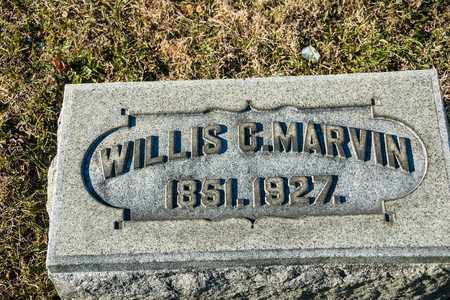 MARVIN, WILLIS C - Richland County, Ohio | WILLIS C MARVIN - Ohio Gravestone Photos