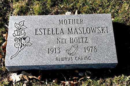 MASLOWSKI, ESTELLA - Richland County, Ohio | ESTELLA MASLOWSKI - Ohio Gravestone Photos