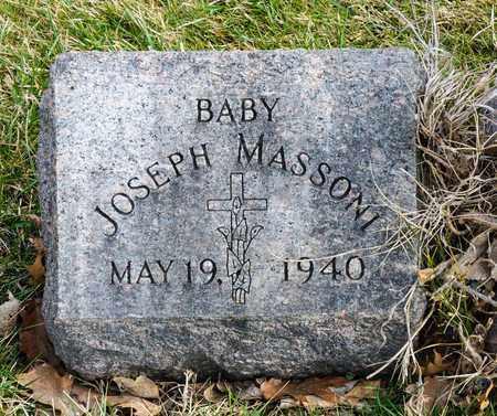 MASSONI, JOSEPH - Richland County, Ohio | JOSEPH MASSONI - Ohio Gravestone Photos