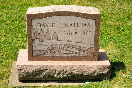 MATHIAS, DAVID J - Richland County, Ohio | DAVID J MATHIAS - Ohio Gravestone Photos