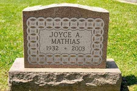 MATHIAS, JOYCE A - Richland County, Ohio | JOYCE A MATHIAS - Ohio Gravestone Photos
