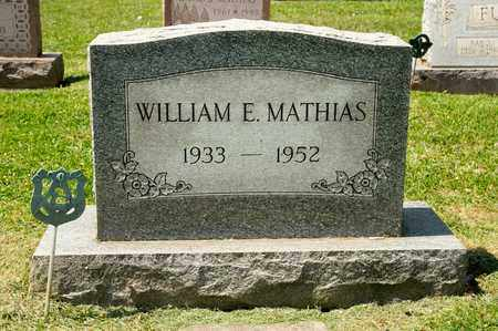 MATHIAS, WILLIAM E - Richland County, Ohio | WILLIAM E MATHIAS - Ohio Gravestone Photos