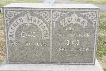 MATTOON, ZELINA - Richland County, Ohio | ZELINA MATTOON - Ohio Gravestone Photos