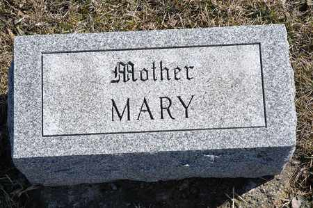 "MAUCH, MARIE ""MARY"" - Richland County, Ohio 