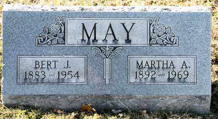 MAY, BERT J - Richland County, Ohio | BERT J MAY - Ohio Gravestone Photos