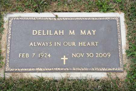 MAY, DELILAH M - Richland County, Ohio | DELILAH M MAY - Ohio Gravestone Photos