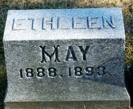 MAY, ETHLEEN - Richland County, Ohio | ETHLEEN MAY - Ohio Gravestone Photos