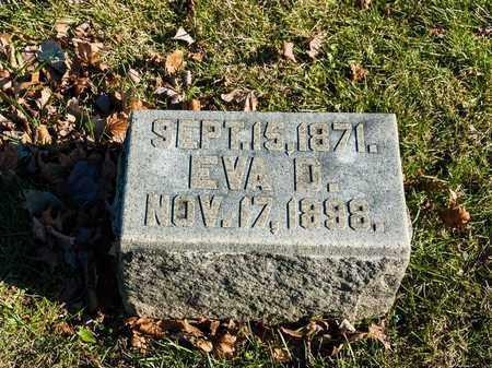 MAY, EVA D - Richland County, Ohio | EVA D MAY - Ohio Gravestone Photos