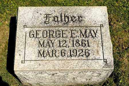 MAY, GEORGE E - Richland County, Ohio | GEORGE E MAY - Ohio Gravestone Photos
