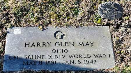 MAY, HARRY GLEN - Richland County, Ohio | HARRY GLEN MAY - Ohio Gravestone Photos