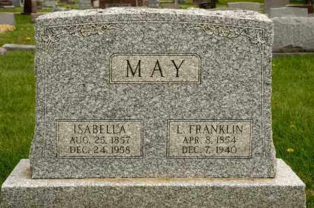MAY, ISABELLA - Richland County, Ohio | ISABELLA MAY - Ohio Gravestone Photos