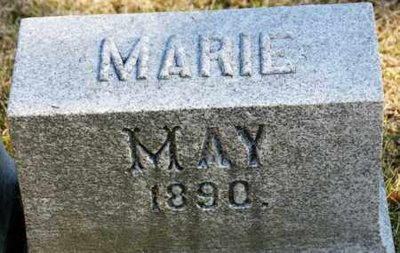 MAY, MARIE - Richland County, Ohio | MARIE MAY - Ohio Gravestone Photos