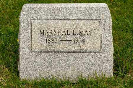 MAY, MARSHAL L - Richland County, Ohio | MARSHAL L MAY - Ohio Gravestone Photos