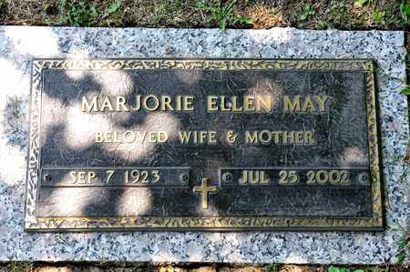 MAY, MARJORIE ELLEN - Richland County, Ohio | MARJORIE ELLEN MAY - Ohio Gravestone Photos