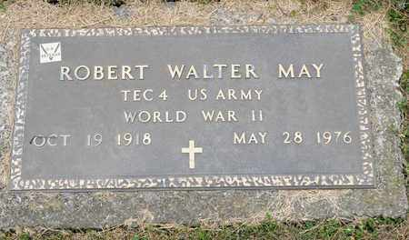 MAY, ROBERT WALTER - Richland County, Ohio | ROBERT WALTER MAY - Ohio Gravestone Photos