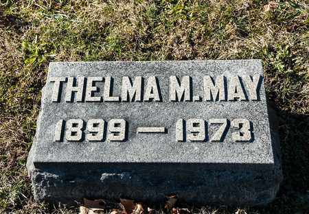 MAY, THELMA M - Richland County, Ohio | THELMA M MAY - Ohio Gravestone Photos