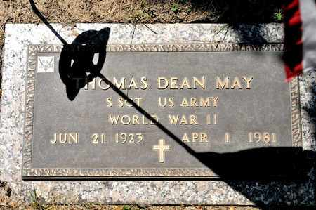 MAY, THOMAS DEAN - Richland County, Ohio | THOMAS DEAN MAY - Ohio Gravestone Photos