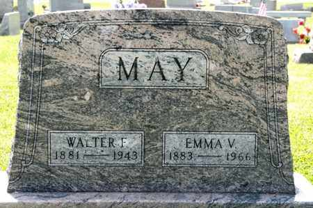 MAY, WALTER F - Richland County, Ohio | WALTER F MAY - Ohio Gravestone Photos