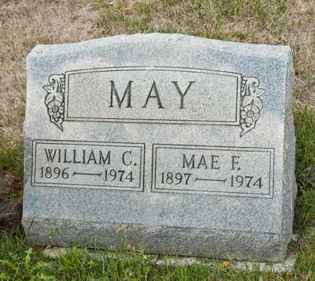 MAY, MAE F - Richland County, Ohio | MAE F MAY - Ohio Gravestone Photos