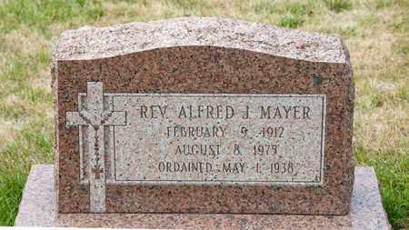 MAYER, ALFRED J - Richland County, Ohio | ALFRED J MAYER - Ohio Gravestone Photos
