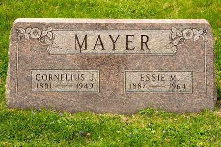 MAYER, CORNELIUS J - Richland County, Ohio | CORNELIUS J MAYER - Ohio Gravestone Photos