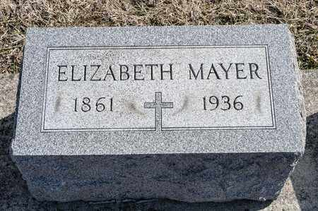 MAYER, ELIZABETH - Richland County, Ohio | ELIZABETH MAYER - Ohio Gravestone Photos