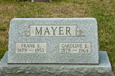 MAYER, FRANK E - Richland County, Ohio | FRANK E MAYER - Ohio Gravestone Photos