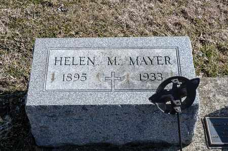 MAYER, HELEN M - Richland County, Ohio | HELEN M MAYER - Ohio Gravestone Photos
