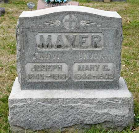 MAYER, MARY C - Richland County, Ohio | MARY C MAYER - Ohio Gravestone Photos