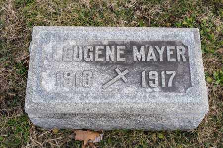 MAYER, J EUGENE - Richland County, Ohio | J EUGENE MAYER - Ohio Gravestone Photos