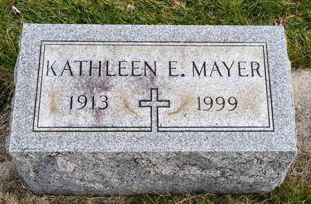 MAYER, KATHLEEN E - Richland County, Ohio | KATHLEEN E MAYER - Ohio Gravestone Photos
