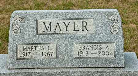 MAYER, MARTHA L - Richland County, Ohio | MARTHA L MAYER - Ohio Gravestone Photos