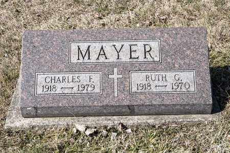 MAYER, CHARLES F - Richland County, Ohio | CHARLES F MAYER - Ohio Gravestone Photos