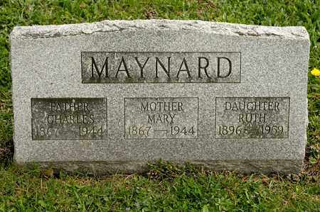 MAYNARD, MARY - Richland County, Ohio | MARY MAYNARD - Ohio Gravestone Photos