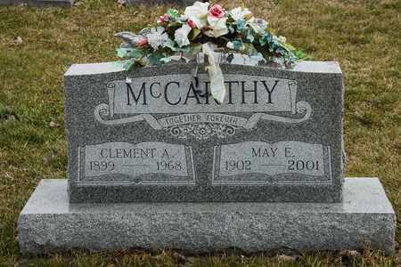MCCARTHY, MAY E - Richland County, Ohio | MAY E MCCARTHY - Ohio Gravestone Photos