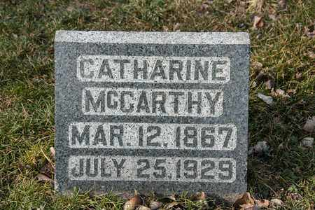 MCCARTHY, CATHARINE - Richland County, Ohio | CATHARINE MCCARTHY - Ohio Gravestone Photos